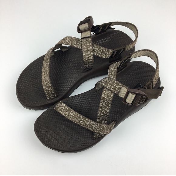 cc7f1b078940 Chaco Shoes - Brown Chaco Z1 Brown Sport Sandals Size 9